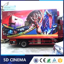 Truck Mobile 5D 7D cinema Theater Movie/High Quality 5d Cinema/7d Cinema Simulator
