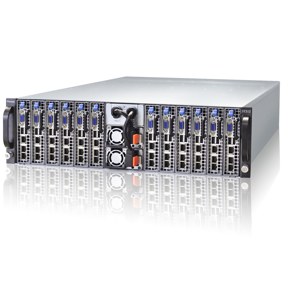 super blade server 3U 12nodes for web hosting dedicated server