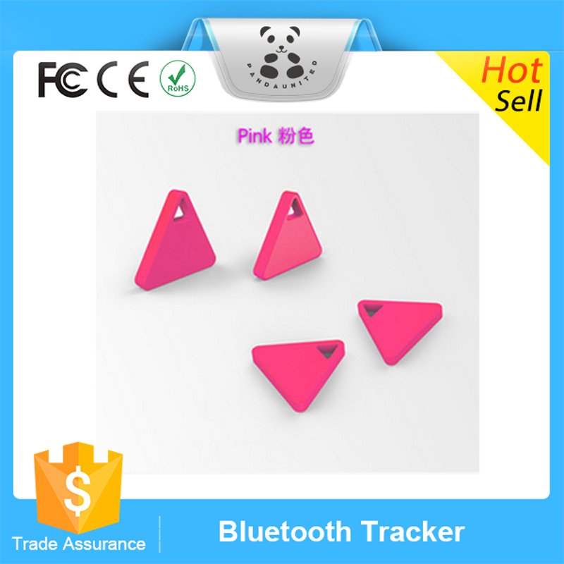 Triangle Anti Lost Alarm Bluetooth 4.0 Tracker Pets Wallets Kids Customized Key Finder