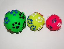 QQ eco-friendly baking toy dog ball & toy dogs for girls