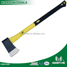 Axe With Double color Plastic-coating Fiberglass Handle