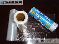 HDPE plastic clear bag on roll for food, vegetable and fruit
