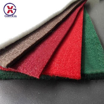 China Factory Manufacture Felt Carpet Plain Nonwoven PP or Polyester Fabric Exhibition Carpet Outdoor Carpets