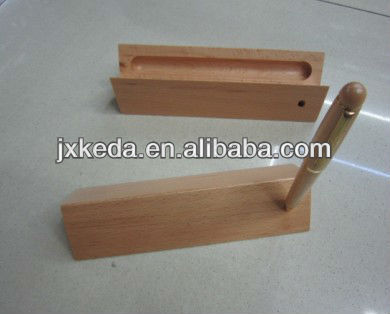 2013 Quality Luxury Timber wooden bamboo box For Pen