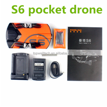 Follow Me drone RC Quacopter S6 Pocket Drones