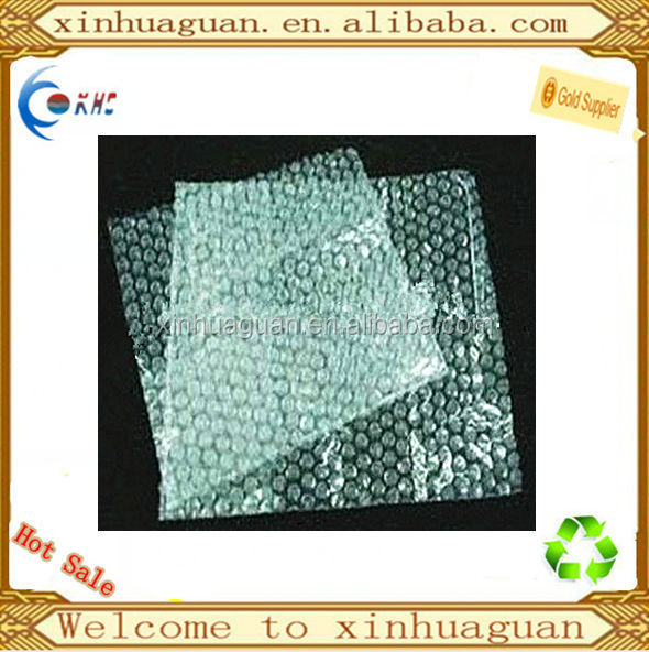 LDPE transparent bubble plastic bag for packaging for fragile things