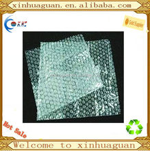 LDPE trasparent bubble platic bag for packaging for fragile things