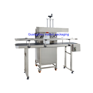 Automatic induction aluminum foil continous sealing machine/sealer