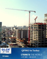 ISO, CE approved Topless/flat top QTZ tower crane QP5013