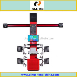 Auto Wheel Aligner / Wheel Service Equipment / High Precision 3D Wheel Aligner DS6