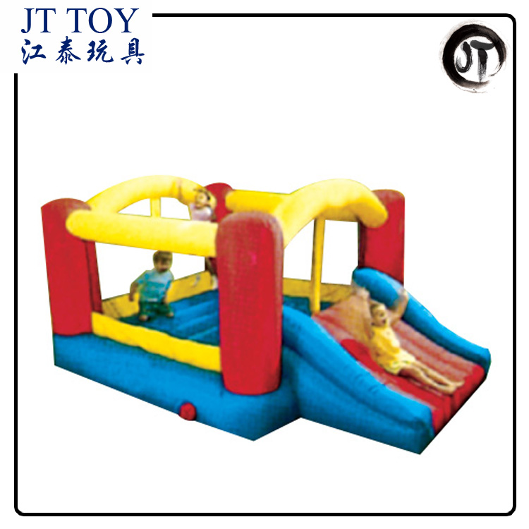 JT-14105B children's games outdoor inflatable christmas bouncer water slide