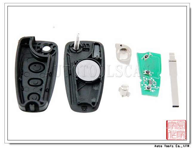 Intelligent key for Ford Focus 3 button remote smart key 433mhz 4d60 AK018032