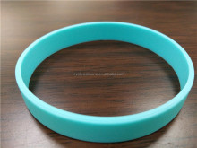 BPA free custom design silicone bracelet with custom qr code