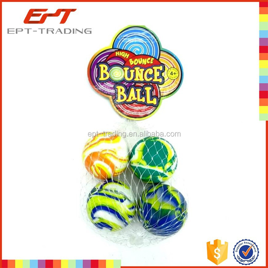 Hot selling kids funny high bouncing rubber balls for sale