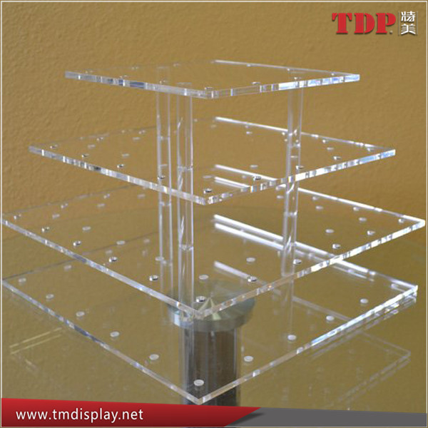 Customize 4 Tier Acrylic Stand Cake Push Pop Stand