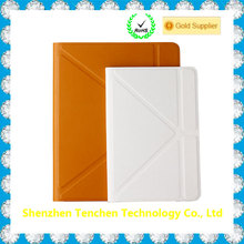 "Unique Leather Rubber 9.7"" Tablet Silicone Flip Cover Case For iPad Pro with wireless keyboard"