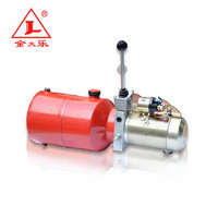 DC 12V hydraulic power pack for semi- electric stacker with electric gear pump