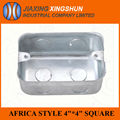 High quality outdoor Africa metal telephone terminal case