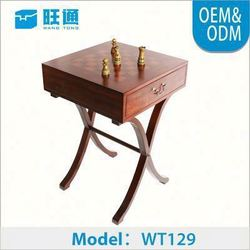 high-end hot-sale Natural Color Wooden Customized Luxury chess set travel