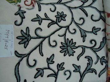 Crewl Cotton fabric