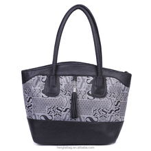 Best sale western style wholesale PU leather tote women hand bags 2016
