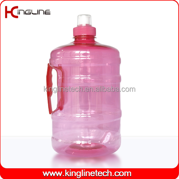 Nice PET 2000ml large plastic water containers with tap adult OEM (KL-8024)