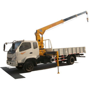 5 Ton Telescopic Boom Truck Mounted Mobile Crane for Sale