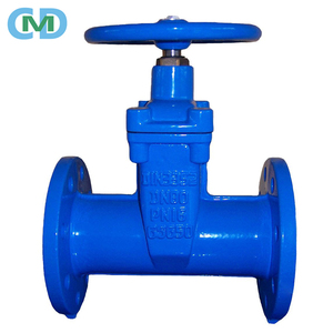 DIN3352 Ductile Iron Resilient Seat 6 Inch 3 Inch PN16 Water Gate Valve