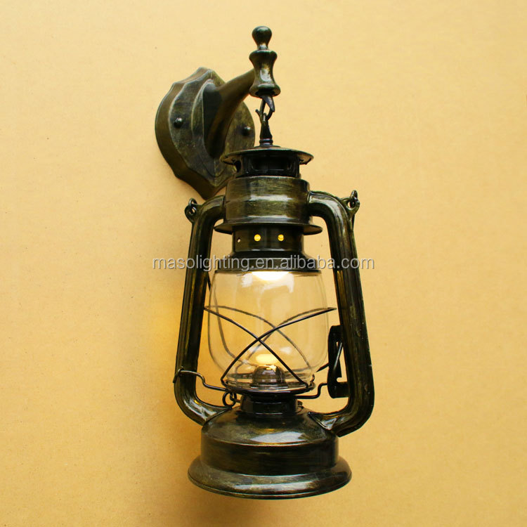 loft wall lamp vintage oil lamps moroccan lantern retro industrial decoration balcony lamp