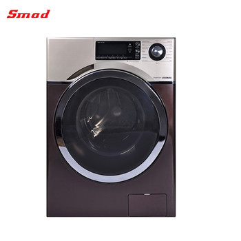 Inverter washer and dryer all in one laundry washing machine with LED show