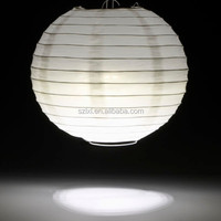 White Color Chinese Paper Lantern With