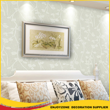 Interior Home Decor Natural Glueless Vinyl Wallpapers In China