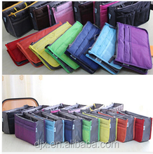 Insert Large Tidy Travel Organizer Bag ,Travel Makeup Cosmetic Pouch,travel toiletry bag
