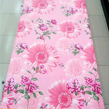 100% microfiber polyester printed twill fabric for bedding set
