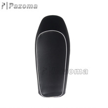 Newest Pazoma Black Retro Motorcycle Cafe Racer Seat For Honda CB CG