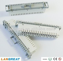 10 pairs krone lsa back mount and profile 4 junction box 8-pair disconnection module