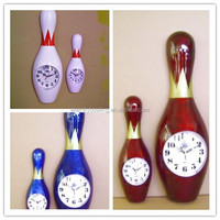 New fashion bowling products wall clock for bowling gift