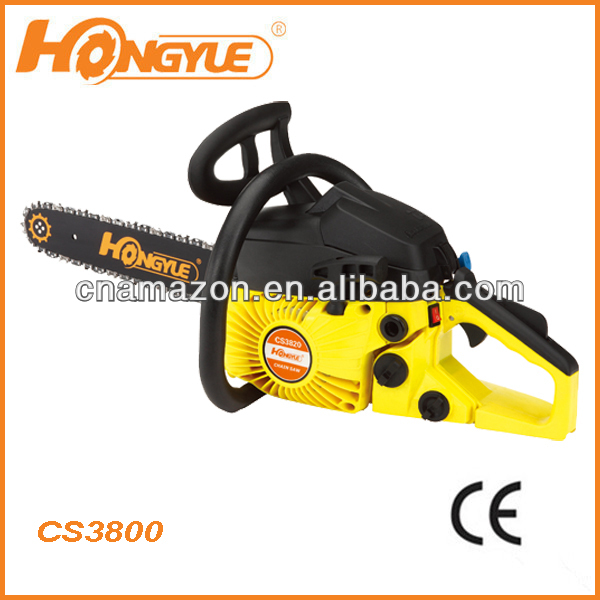 "champion chain saw/gasoline /petrol/38CC/motor 16""/18""/chainsaw/farm wood cutter/semi-professinal motosseras"
