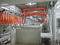 zinc electroplating machine/metal SS barrel plating line for metal finishing