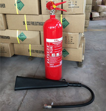 Portable 5kg co2 fire extinguisher with CE valve