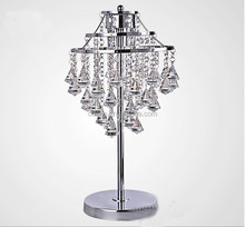 european design antique crystal table lamp