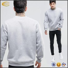 Ecoach Wholesale OEM High Quality Men Autumn Long Sleeve Crew Neck Blank Oversized Sweatshirt Custom Logo Pullover Hoodies