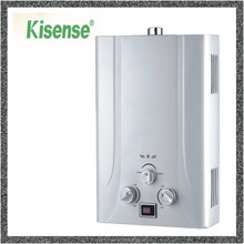 Flue type tankless water heater hot water camping boiler