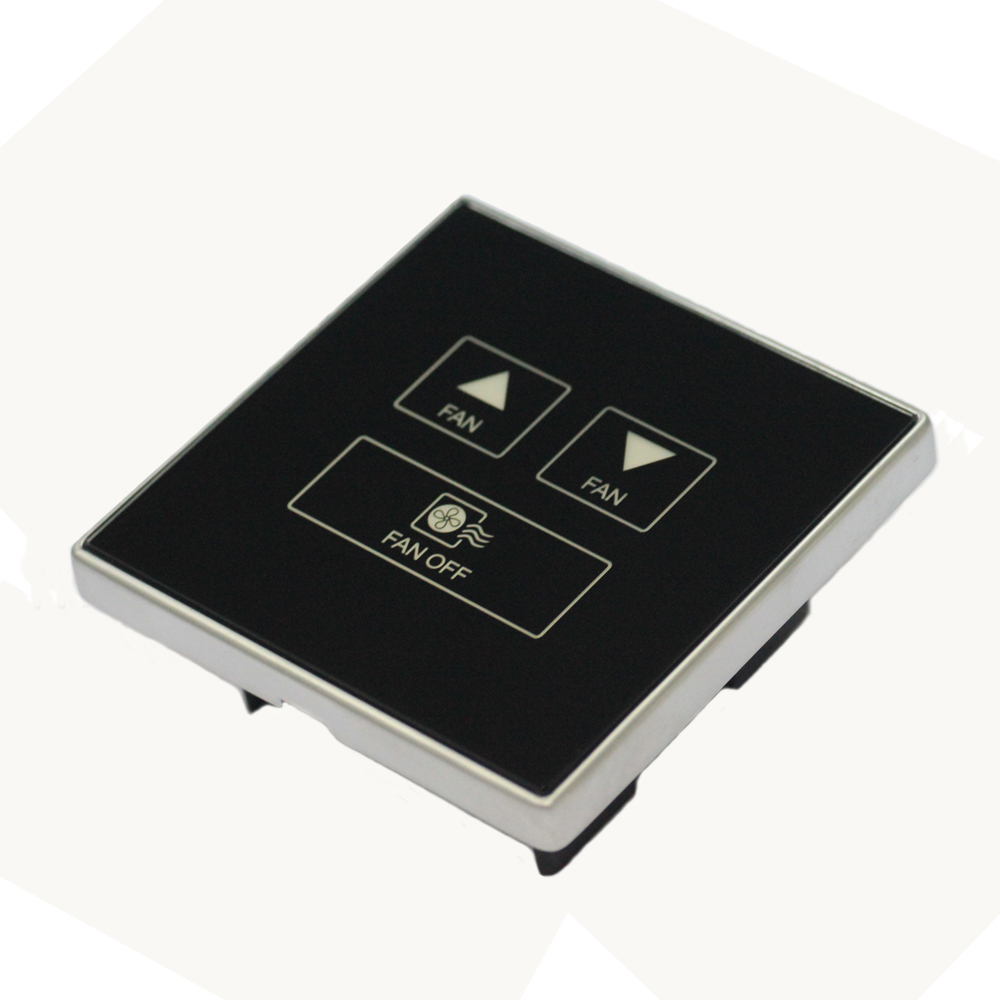 AODSN touch screen fan speed control switch