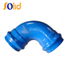 Ductile Iron Double Socket 90 degree bend For PVC Pipe