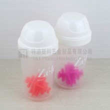300ml high quality BPA free Plastic travel shaker with big mouth