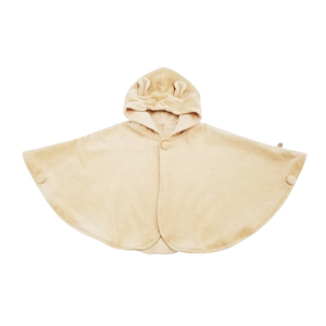 Best Seller Own Design 100% Organic Cotton Poncho Sleeve Autumn Baby Cloak Outfits