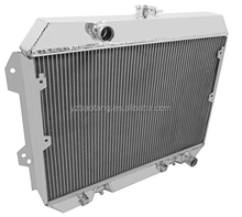 3 Row All Aluminum Radiator for 75-78 Datsun/N issan 280Z