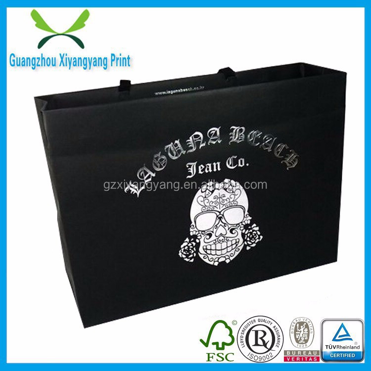 fancy customized logo printed shopping bag ,gift bag,paper bag with handle