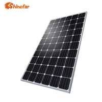 A grade mono 260w 270w 280w 290w photovoltaic solar panel for system home